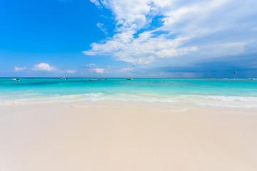Xpu-Ha Beach - beautiful caribbean coast of Mexico - Riviera Maya