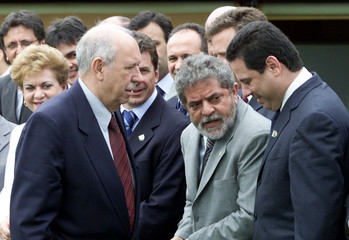 BRAZILIAN PRESIDENT LULA DA SILVA MEETS WITH GOVERNORS OF ALL STATES OFTHE COUNTRY.