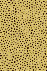 Synthetic animal print