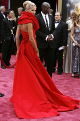 Model Heidi Klum and musician Seal arrive at the 80th annual Academy Awards in Hollywood