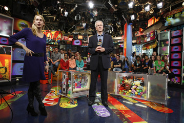 Liberal leader Stephane Dion stands during a break in his television interview at MuchMusic in Toronto