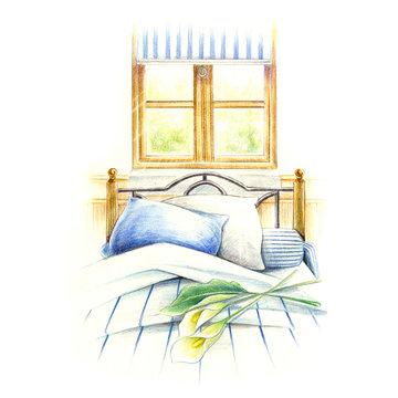 心地よいベッドルーム