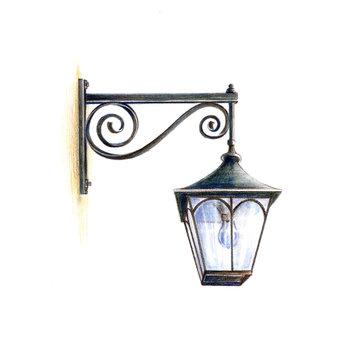 アンティークな街灯