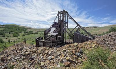 Gold mine, Colorado