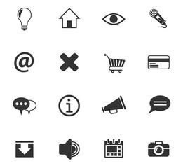 user interface icon set