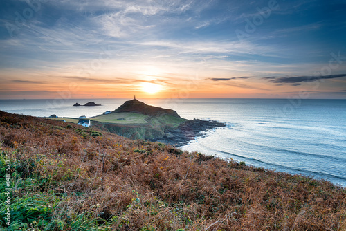 Wall mural Sunset over Cape Cornwall