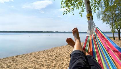 kleine Pause am See
