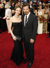 "Josh Brolin, best supporting actor nominee for ""Milk,"" and his wife actress Diane Lane arrive at the 81st Academy Awards in Hollywood"