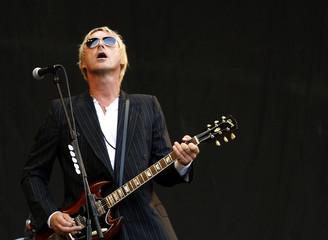 British pop singer Weller performs performs during the Glastonbury music festival