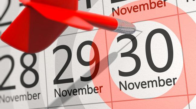 Stichtag 30.November