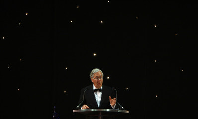 Bank of England Governor King delivers his first keynote address of the year at CBI dinner in Nottingham