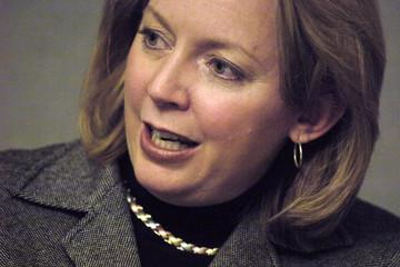 Deborah Majoras speaks with Reuters in Washington