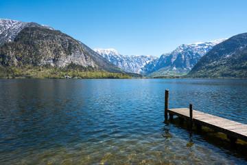 Steg am Hallstättersee, Österreich