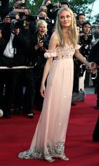 German actress Diane Kruger poses at Cannes.