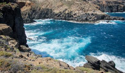 Cliffs of Las Palmas de Gran Canaria,