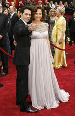 Jennifer Lopez and husband Marc Anthony arrive at the 79th Annual Academy Awards in Hollywood