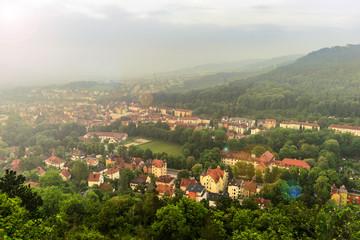 Wunderschöne Sicht auf Jena