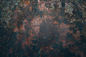 Old metal iron rust texture. Wall mural