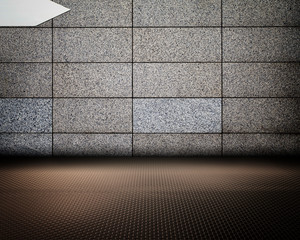 Grunge Abstract Urban Interior Wall Stage Background