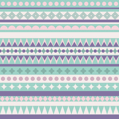 Abstract Seamless Pattern with Abstract Lines. Geometric Art Print. Tribal style design. Ethnic hipster backdrop. Wallpaper, cloth design, fabric, paper, cover, textile