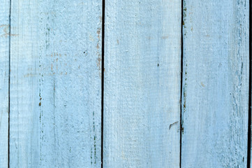 Wooden texture of blue boards