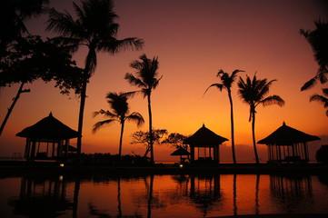 Am Pool auf Bali