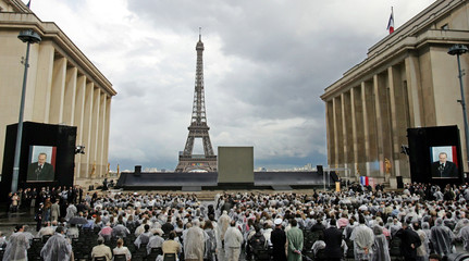 Crowds attend the commemorations of the national day of remembrance for the victims and heroes of de..