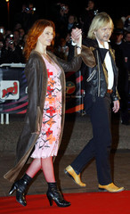 FRENCH SINGER RENAUD AND BELGIAN SINGER AXELLE RED ARRIVE IN CANNES.