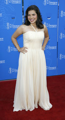 Actress Ferrera arrives during the 22nd Annual Imagen Awards show in Los Angeles