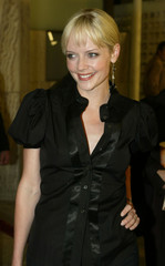 "Actress Marley Shelton arrives as a guest for the premiere of the romantic comedy film, ""Just Marrie.."