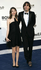 Director Sofia Coppola and Thomas Mars arrive at amfAR's Cinema Against AIDS 2006 event