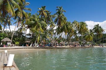 Marigot bay - Caribbean sea - Saint Lucia tropical island