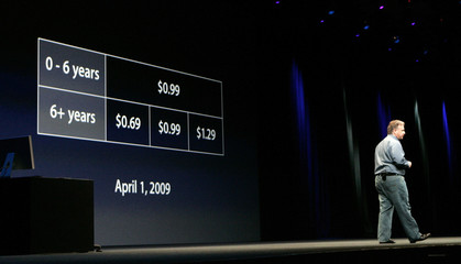 """Schiller introduces new pricing structure for company's """"iTunes"""" service in San Francisco"""