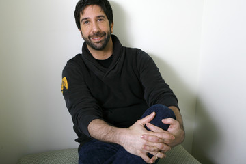 Director of the movie Run, Fatboy, Run David Schwimmer poses for a portrait in Los Angeles