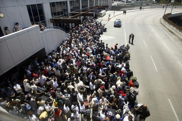 THOUSANDS EVACUATED AFTER SHOOTING AT LAX.