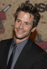 Actor Christian Oliver arrives for the taping of the Fuse/Fangoria Chainsaw Awards in Los Angeles, California