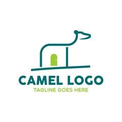 Unique Camel Logo Template