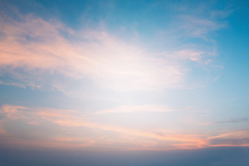 Sky heaven Background or backdrop blurred nature Abstract style Pastel tones