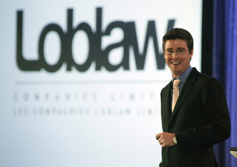 Loblaw Cos. Ltd. chairman Galen Weston Jr. speaks at their annual general meeting in Toronto