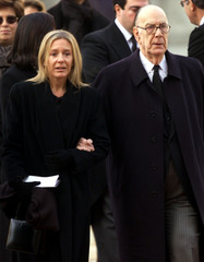 SPAIN'S NOBEL PRIZE WINNER CAMILO JOSE CELA AND WIFE FILE PHOTO.