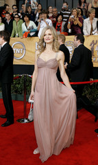 Kyra Sedgwick arrives at 12th annual Screen Actors Guild Awards in Los Angeles