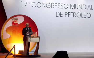 INDIAN PETROLEUM AND NATURAL GAS MINISTER NAIK DELIVERS SPEECH AT 17THWORLD PETROLEUM CONGRESS IN RIO.