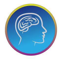 Kopf / Gehirn / Denken / Vektor / Gesundheit