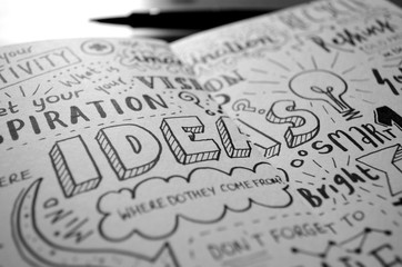 Handwritten Sketch Notes IDEAS