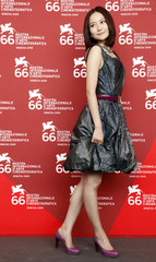 """Actress Han attends the ''Yi Ngoy """" photocall at the Sala Grande during at the 66th Venice Film Festival"""