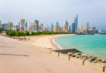 Foto op Canvas Abu Dhabi Skyline of Kuwait