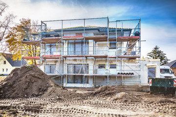 Generationenhaus im Bau