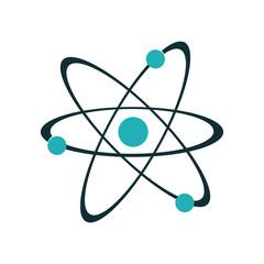 atom representation icon image vector illustration design