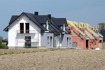 Obraz Construction of the house - fototapety do salonu