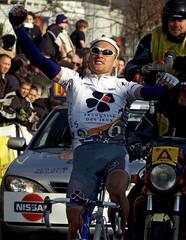 AUSTRALIAN BADEN COOKE WINS THE DWARS DOOR VLAANDEREN CYCLING RACE INWAREGEM.